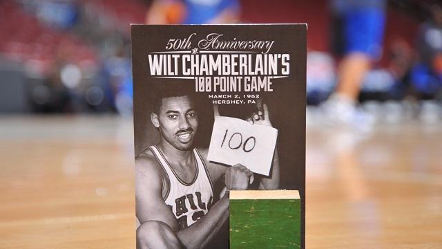 Wilt Camberlain 100 point game