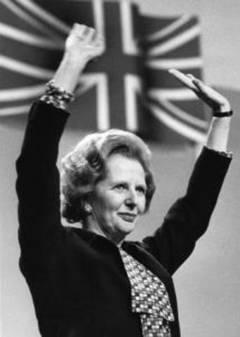 Margaret Thatcher Became the First Female Prime Minister of Britain
