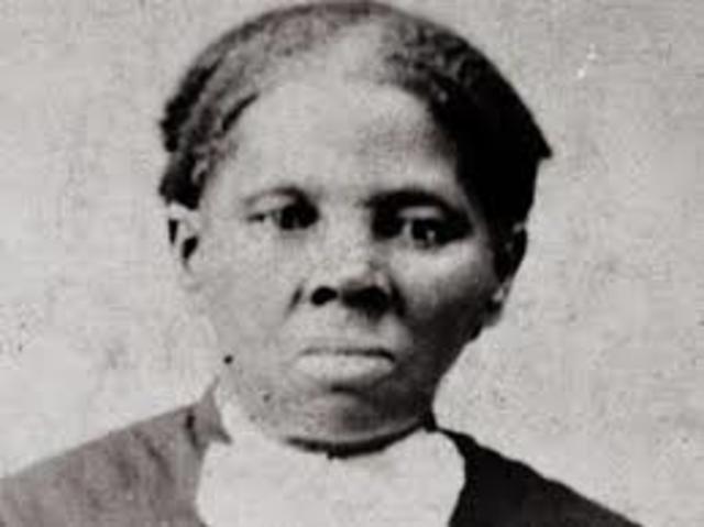 Harriet Tubman born