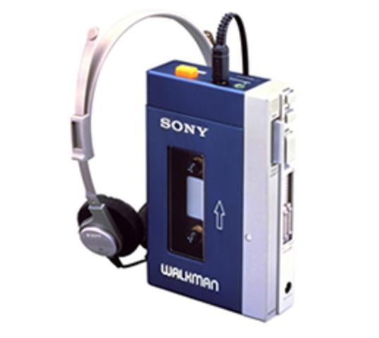 Sony Introduces Walkman