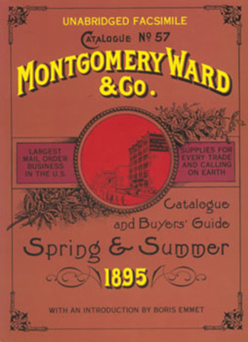 Montgomery Ward begins to sell goods to rural customers by mail.