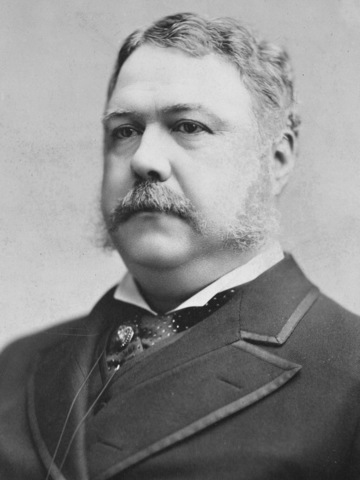 After the assassination of President Garfield, Chester A. Arthur is elected as president.