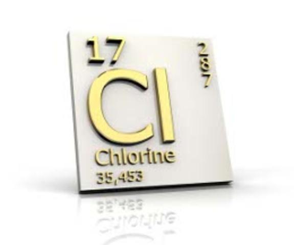 ανακάλυψη χλωριού