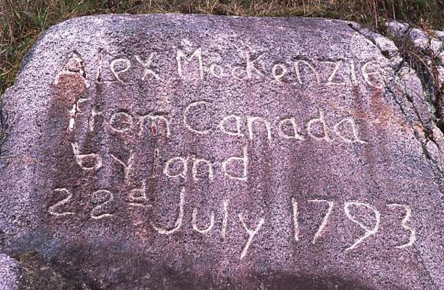 Alexander Mackenzie is Kighted - GPM