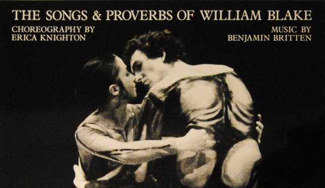 Performance: The Songs & Proverbs of William Blake