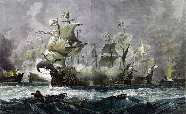 The Spanish Armada is Defeated