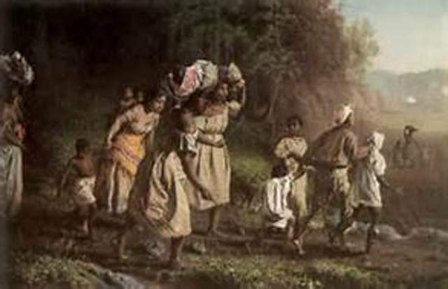 Harriet Ran Away From Slavery
