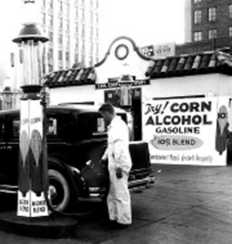 Alcohol Fuel Production Promoted to Combat the Great Depression