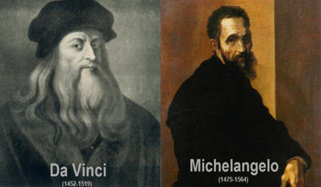 Leonardo da Vinci Works Under Pope Leo X With Michelangelo