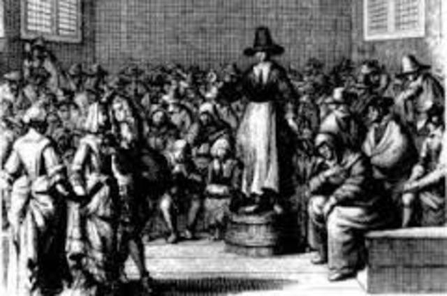 Quakers Protest slavery in America