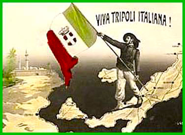 L'Italia conquista la Libia