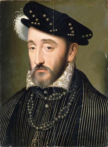 King Henry II of France killed