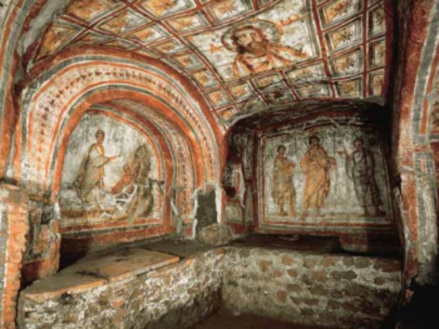The Catacombs of Rome Were Discovered