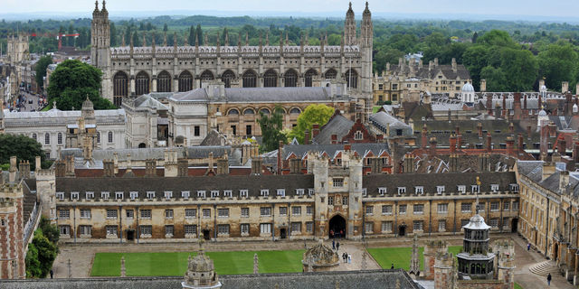 Goes to Cambridge University