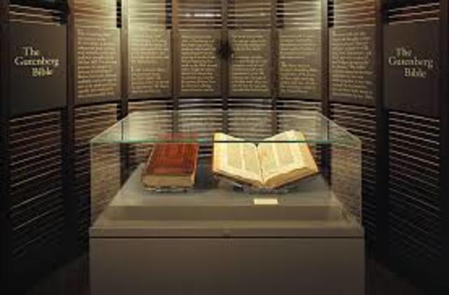 Germany: First Gutenberg Bible Printed