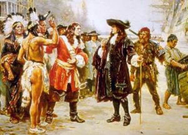 Colonization in New England