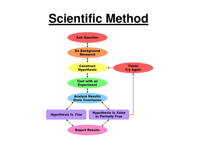 René Descartes dicovered Scientific Method