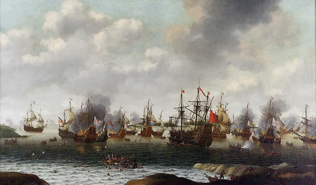 The First Anglo Dutch War