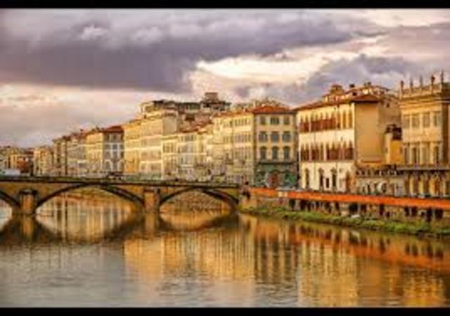 Passagem por Florença