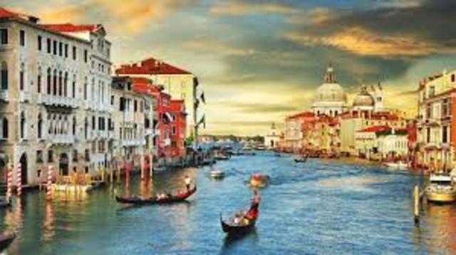 Veneza uma cidade de encantar