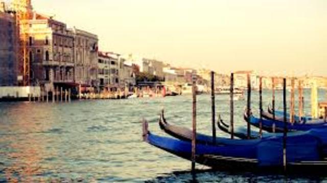 segui para Veneza