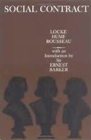 Locke begins to write and promote the idea of a social contract