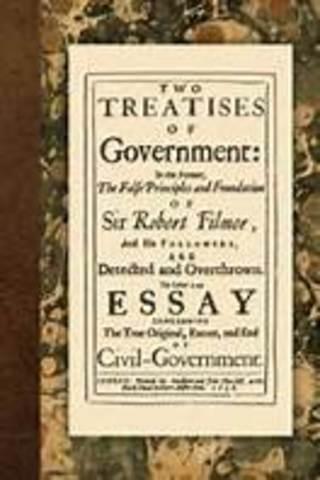 Locke publishes 2 Treasties of Civil Government
