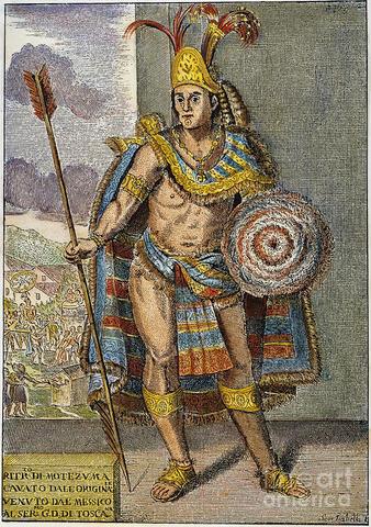 Montezuma II Becomes Aztec Ruler in Mexico