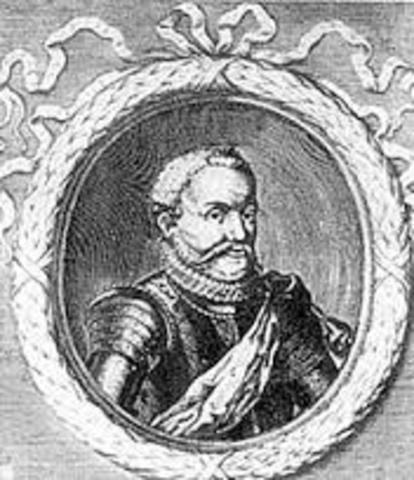Nicolas Villegagnon discovers the site of Rio de Janerio