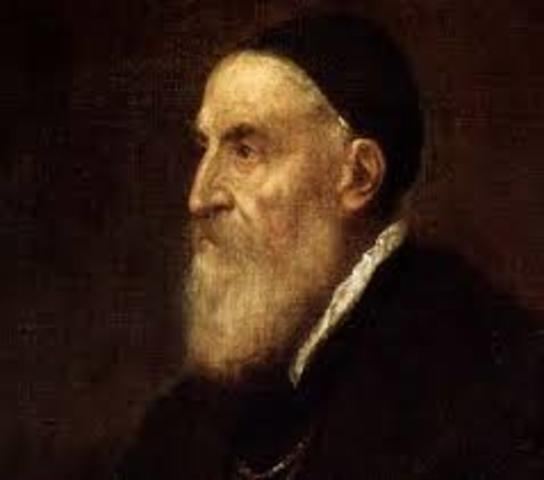 """Titian painted a portrait of """"Philip II"""""""