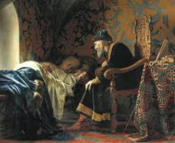 Ivan the terrible's wife, Anastasia Romanov, died