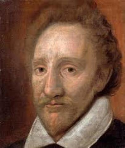 Richard burbage recieves licence to open theater in London
