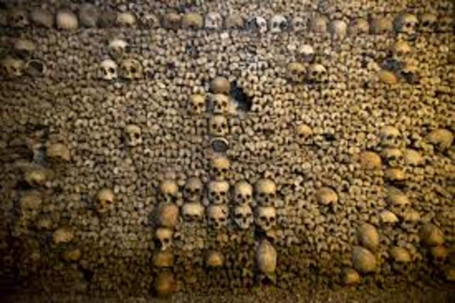 catacombs were discovered in Russia