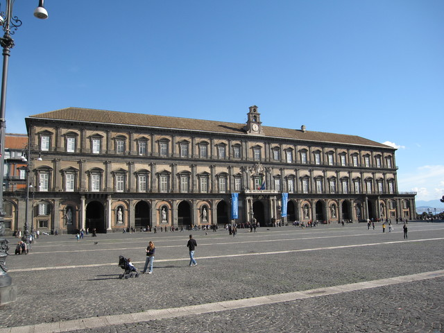 Building of Royal Palace in Naples Begins