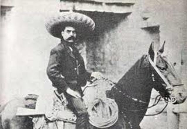 Zapata se levanta en armas