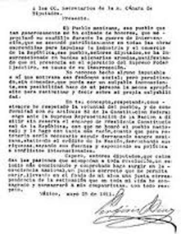 Firma Tratados de Ciudad Juarez