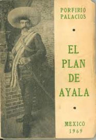 Proclama Plan de Ayala