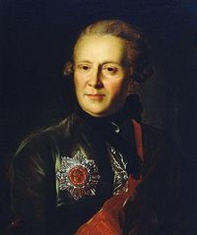 Рождение Сумарокова Александра Петровича