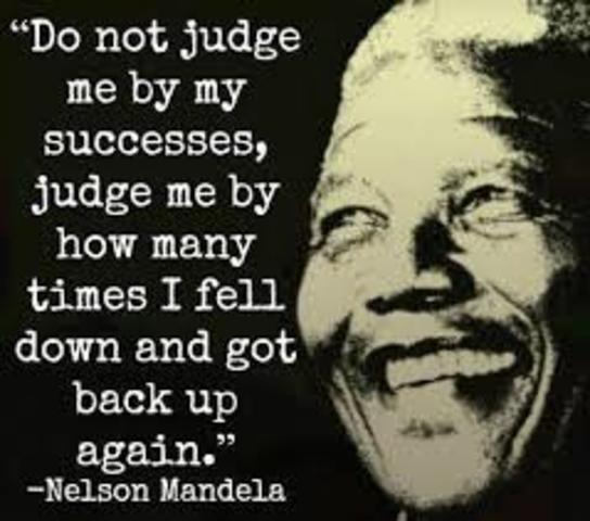 Nelson Mandela goes to prison