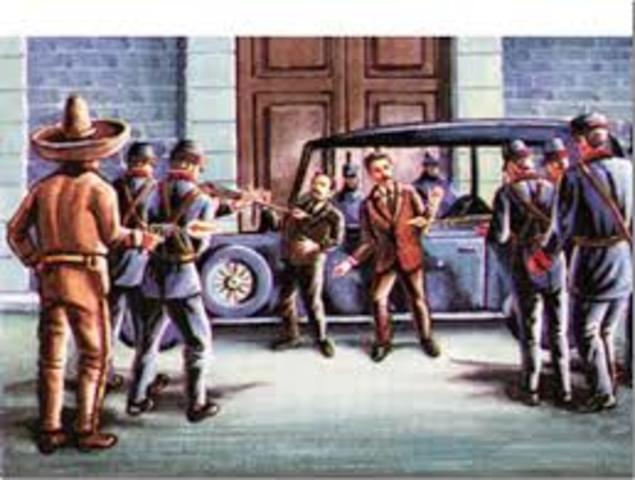 Revuelta contra gobierno de Madero