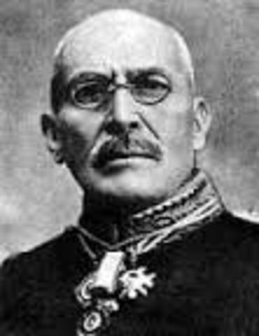 Huerta Renucnia a l Presidencia