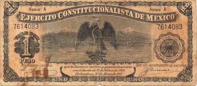 Obregon representande del Ejercito Constitucionalista
