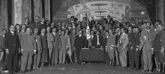 Sesiones de Convencion Revolucionaria