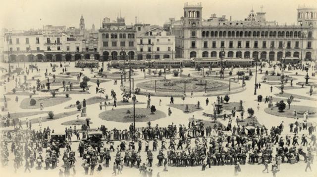 Zapatistas y Villistas Toman Mexico
