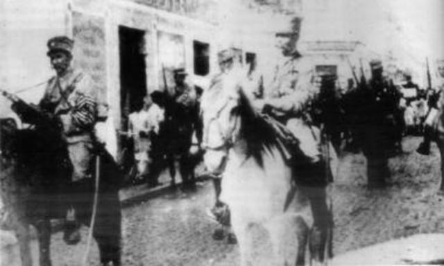 Alvarado entra a Merida