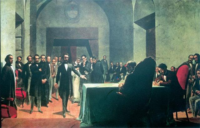 Sesiones der Congreso Constituyente