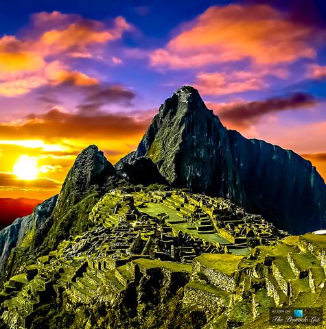 Pinnacle of Incan Empire In Peru