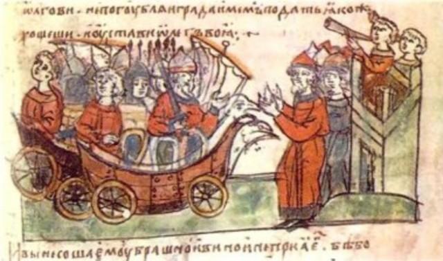Второй поход Олега на Византию