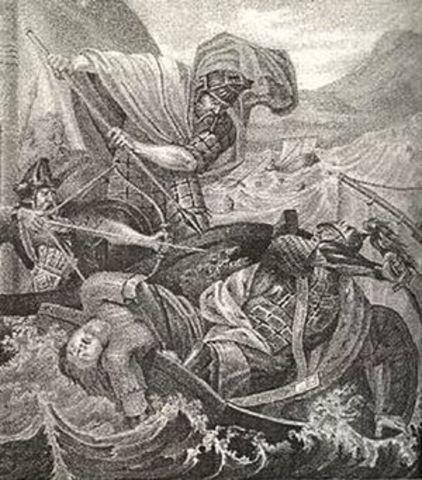 Смерть Святослава от рук печенегов