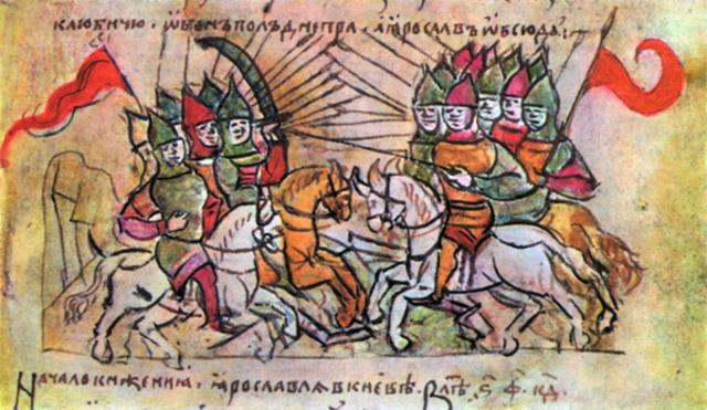 Разгром Ярославом печенегов